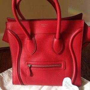 Celine Mini Luggage Handbag